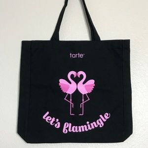 "Tarte ""Lets Flamingle"" Pink Flamingo Tote"